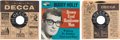 Music Memorabilia:Recordings, Buddy Holly 45 Singles and EP Group of 3 (1956-63).... (Total: 3 Items)