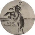 Political:Pinback Buttons (1896-present), Theodore Roosevelt: Teddy as Bronco Buster Button....