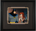 "Animation Art:Production Cel, Batman: the Animated Series ""Heart of Steel - Part II""Animation Production Cel Original Art (Warner Brothers, 1992)...."