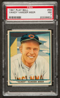 "Baseball Cards:Singles (1940-1949), 1941 Play Ball Johnny ""Vandy"" Vander Meer #56 PSA NM 7...."