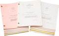"Movie/TV Memorabilia:Documents, A Collection of Scripts from ""The A-Team.""... (Total: 55 Items)"
