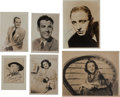 Movie/TV Memorabilia:Autographs and Signed Items, A Miscellaneous Collection of Signed Black and White Photographs, Circa 1940s.... (Total: 6 Items)