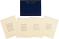 Music Memorabilia:Memorabilia, The Doors' Jim Morrison The Lords Notes On Vision Limited Edition Collection of Poetry (James Douglas Morrison, 19...