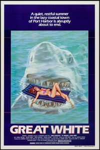 """Great White (Film Ventures International, 1981). One Sheet (27"""" X 41"""") Style A. Horror"""