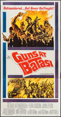 "Movie Posters:War, Guns at Batasi (20th Century Fox, 1964). Three Sheet (41"" X 80""). War.. ..."