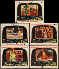 """House of Wax (Warner Brothers, 1953). Lobby Cards (5) (11"""" X 14""""). Horror. ... (Total: 5 Items)"""