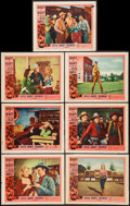 """Movie Posters:Western, Jesse James' Women (United Artists, 1954). Lobby Cards (11) (11"""" X14""""). Western.. ... (Total: 11 Items)"""