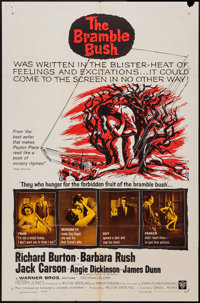 """The Bramble Bush (Warner Brothers, 1960). Lobby Card Set of 8 (11"""" X 14"""") and One Sheet (27"""" X 41"""")..."""