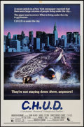 "Movie Posters:Horror, C.H.U.D. (New World, 1984). One Sheet (27"" X 41""). Horror.. ..."