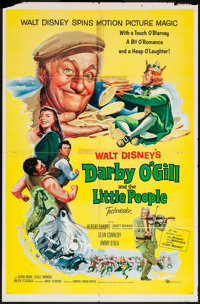 """Darby O'Gill and the Little People (Buena Vista, 1959). One Sheet (27"""" X 41"""") & Lobby Card Set of 8 (1..."""