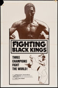 "Movie Posters:Action, Fighting Black Kings (New Line, 1976). One Sheet (27"" X 41"").Action.. ..."