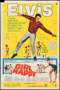 """Girl Happy and Others Lot (MGM, 1965). One Sheets (4) (27"""" X 41""""). Elvis Presley. ... (Total: 4 Items)"""