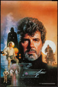 "Movie Posters:Science Fiction, George Lucas: The Creative Impulse Art by Drew Struzan (LucasfilmLtd., 1997). Poster (24"" X 36""). Science Fiction.. ..."