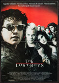 "Movie Posters:Horror, The Lost Boys (Warner Brothers, 1987). German Mini Poster (11.75"" X16.5""). Horror.. ..."