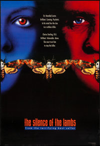 "The Silence of the Lambs (Orion, 1990). One Sheet (27"" X 39.5"") SS Advance Style B. Thriller"