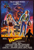 """Movie Posters:Comedy, Howard the Duck (Universal, 1986). British One Sheet (27"""" X 40"""").Comedy.. ..."""
