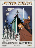 """Movie Posters:Animation, Star Wars: Clone Wars Lot (Lucasfilm Ltd., 2003 & 2010).Cartoon Network Posters (2) (18"""" X 24.5"""" & 26.5"""" X 38"""").Animation.... (Total: 2 Items)"""