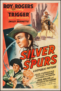 "Silver Spurs (Republic, 1943). One Sheet (27"" X 41""). Western"