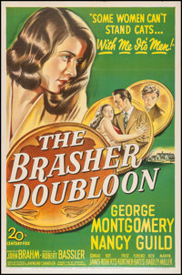 "The Brasher Doubloon (20th Century Fox, 1946). One Sheet (27"" X 41""). Crime"
