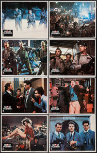 "Ghostbusters (Columbia, 1984). Lobby Card Set of 8 (11"" X 14""). Comedy. ... (Total: 8 Items)"