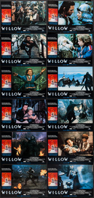 """Willow (MGM, 1988). Spanish Lobby Card Set of 12 (9.5"""" X 13.5""""). Fantasy. ... (Total: 12 Items)"""