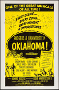 "Movie Posters:Musical, Oklahoma! and Other Lot (RKO, 1955). One Sheet (27"" X 41""), LobbyCards (11) (11"" X 14""), and Uncut Pressbook (13"" X 16.5"", ...(Total: 13 Items)"