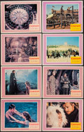 """Movie Posters:Musical, Camelot (Warner Brothers-Seven Arts, 1967). Lobby Card Set of 8(11"""" X 14""""). Musical.. ... (Total: 8 Items)"""