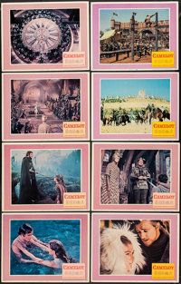 "Camelot (Warner Brothers-Seven Arts, 1967). Lobby Card Set of 8 (11"" X 14""). Musical. ... (Total: 8 Items)"