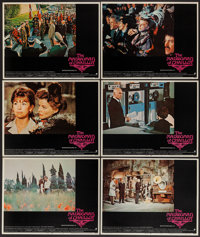 "The Madwoman of Chaillot (Warner Brothers, 1969). Deluxe Lobby Cards (4)and Lobby Cards (7) (11"" X 14""), and P..."