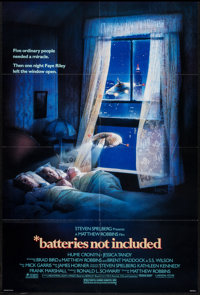 """Batteries Not Included (Universal, 1987). One Sheets (2) (26.75"""" X 39.75""""), Video Posters (6) (26.5"""" X 39..."""