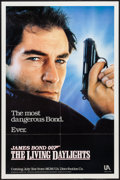 "Movie Posters:James Bond, The Living Daylights (United Artists, 1987). One Sheet (27"" X 41"")Advance Style. James Bond.. ..."