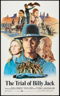 """Movie Posters:Action, The Trial of Billy Jack (Warner Brothers, 1974). One Sheet (27"""" X41""""). Action.. ..."""