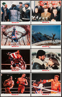 "Rocky IV (MGM/UA, 1985). Lobby Card Set of 8 (11"" X 14""). Sports. ... (Total: 8 Items)"