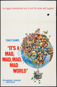 """It's a Mad, Mad, Mad, Mad World (United Artists, 1963). One Sheet (27"""" X 41""""). Comedy"""