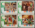 """Movie Posters:Comedy, Beach Party (American International, 1963). Lobby Cards (4) (11"""" X14""""). Comedy.. ... (Total: 4 Items)"""