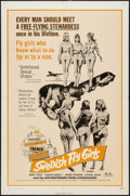 "Movie Posters:Sexploitation, Swedish Fly Girls & Others Lot (Trans American, 1972). OneSheets (3) (27"" X 41""). Sexploitation.. ... (Total: 3 Items)"