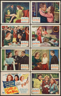 """Movie Posters:Drama, A Letter to Three Wives (20th Century Fox, 1949). Lobby Card Set of8 (11"""" X 14""""). Drama.. ... (Total: 8 Items)"""