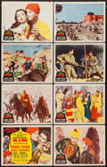 "Movie Posters:Adventure, Kim (MGM, 1950). Lobby Card Set of 8 (11"" X 14""). Adventure.. ...(Total: 8 Items)"