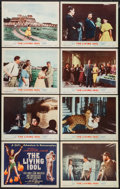 "Movie Posters:Adventure, The Living Idol (MGM, 1956). Lobby Card Set of 8 (11"" X 14""). Adventure.. ... (Total: 8 Items)"