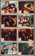 "Movie Posters:Adventure, Kidnapped (Monogram, 1948). Lobby Card Set of 8 (11"" X 14"").Adventure.. ... (Total: 8 Items)"