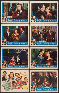 "For The Love Of Mary (Universal International, 1948). Lobby Card Set of 8 (11"" X 14""). Comedy. ... (Total: 8 I..."