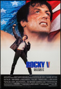 "Movie Posters:Sports, Rocky V (MGM/UA, 1990). One Sheet (27"" X 40"") and German Lobby Cards (15) (8.25' X 11.75""). Sports.. ... (Total: 16 Items)"