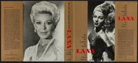 Lana: The Lady, the Legend, the Truth by Lana Turner (E.P. Dutton, 1982). Autographed Hard Cover Book (311 Pages, 6.5&qu...