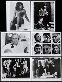 "The Killing of a Chinese Bookie (Faces, 1976). Photos (15) (8"" X 10""). Crime. ... (Total: 15 Items)"