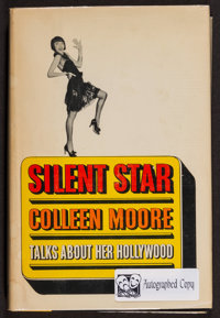 "Silent Star by Colleen Moore (Doubleday & Company, 1968). Autographed Hard Cover Book (262 Pages, 6.5"" X 9..."
