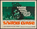 """Movie Posters:Fantasy, The Witch's Curse (Medallion, 1963). Half Sheet (22"""" X 28""""). Fantasy.. ..."""