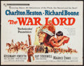 "Movie Posters:War, The War Lord and Others Lot (Universal, 1965). Half Sheets (9) (22""X 28""). War.. ... (Total: 9 Items)"