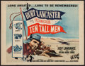 """Movie Posters:Adventure, Ten Tall Men and Others Lot (Columbia, R-1956). Half Sheets (13)(22"""" X 28""""). Adventure.. ... (Total: 13 Items)"""