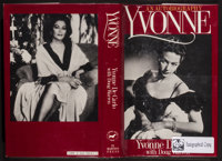 "Yvonne De Carlo (St Martin's Press, 1987). Autographed Book (6.5"" X 9.5"", 240 Pages). Miscellaneous"
