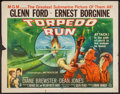 """Movie Posters:War, Torpedo Run and Other Ernest Borgnine Films (MGM, 1958). HalfSheets (5) (22"""" X 28""""). War.. ... (Total: 5 Items)"""
